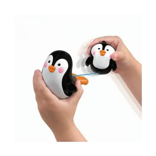 Pancsi fürdőállatok jegesmedve és pingvin